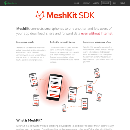 Mesh networking made easy