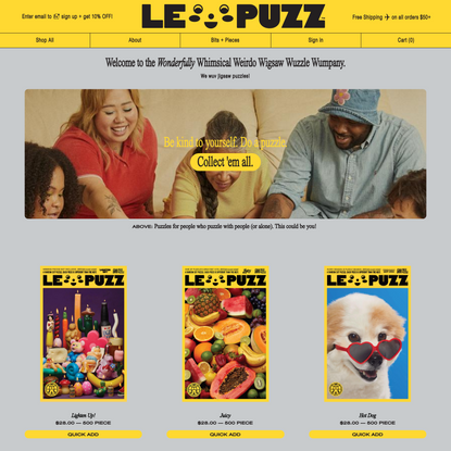 Le Puzz - Jigsaw Puzzles