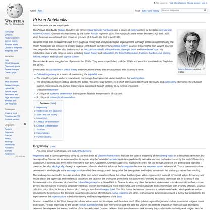 Prison Notebooks - Wikipedia
