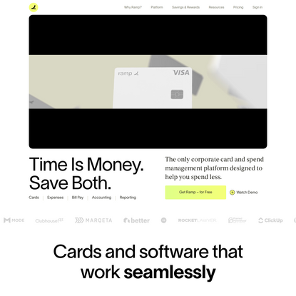 Ramp - The Corporate Card That Helps You Spend Less