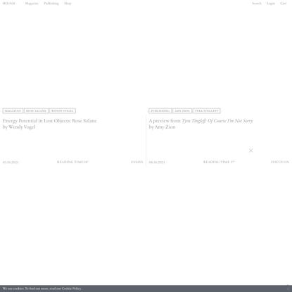 Mousse Magazine and Publishing — Contemporary Art Magazine and Publishing House