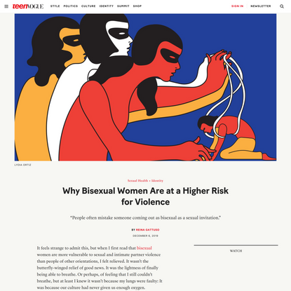 Myths About Bisexual People Aren't Just Wrong — They're Dangerous