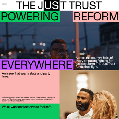 The Just Trust - Powering Reform Everywhere