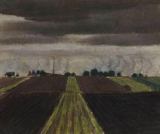 View of the plain  Johan Albin Johansson, Zweeds, 1879-1951