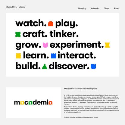 Macademia - Studio Oliver Helfrich