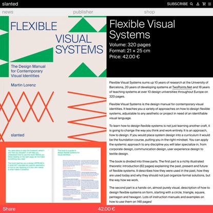 Flexible Visual Systems - slanted