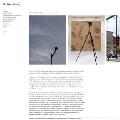 Chekhov's Gun - William Wiebe