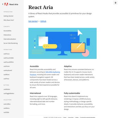 React Aria