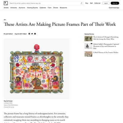These Artists Are Making Picture Frames Part of Their Work