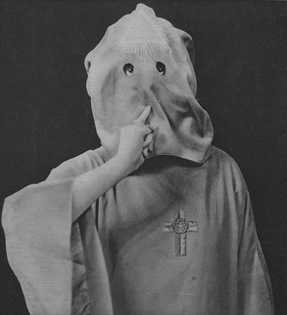 Aleister Crowley on the cover of French weekly magazine Détective, 1929