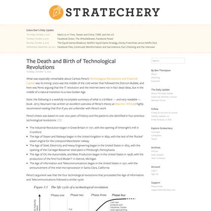 Stratechery by Ben Thompson