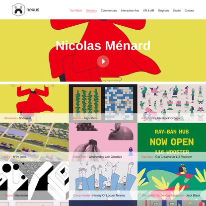 Nicolas Ménard | nexus