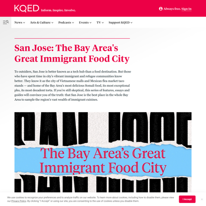 San Jose: The Bay Area's Great Immigrant Food City   KQED