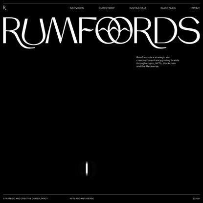 Rumfoords   Metaverse Agency