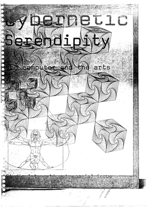 Jasia Reichardt (ed.): Cybernetic Serendipidity: The Computer and the Arts, 1968