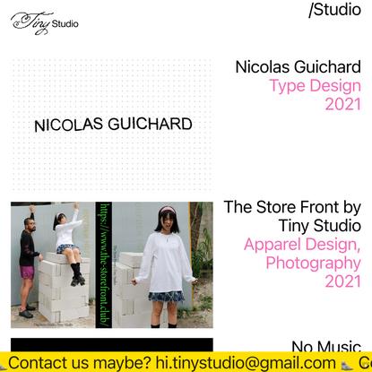 Studio — Tiny Studio