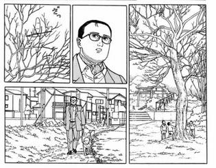 The Walking Man, Jiro Taniguchi