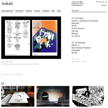 Ankali – Gently crafted club space for open minded heads born in Prague