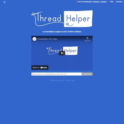 Thread Helper