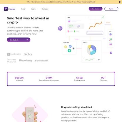 Mudrex - Smartest way to invest in Crypto