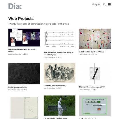 Web Projects   Program   Dia