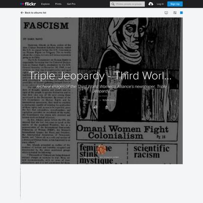 Triple Jeopardy - Third World Women's Alliance