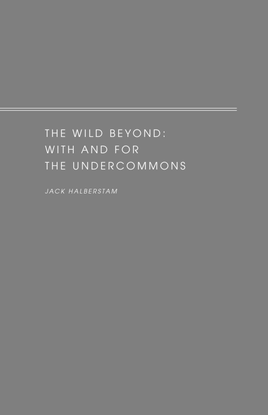 The Wild Beyond: With and For the Undercommons by Jack Halberstam