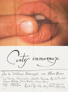 Contes Immoraux, 1973 French poster
