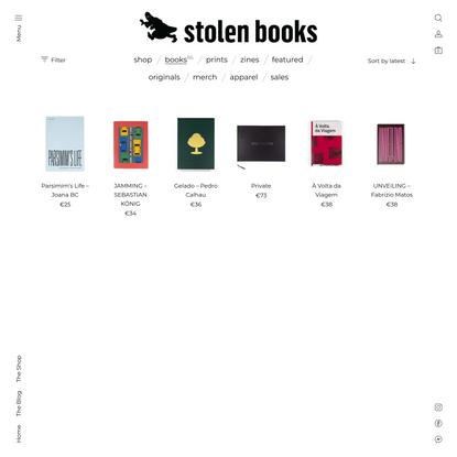 books – Stolen Books