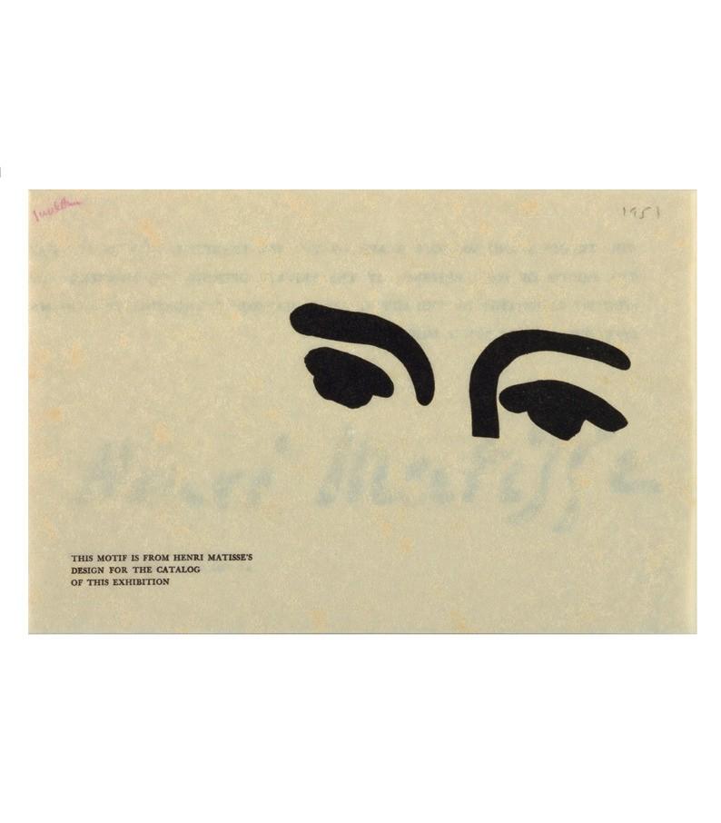 Eyes by Henri Matisse (1951)