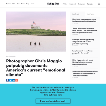 """Photographer Chris Maggio palpably documents America's current """"emotional climate"""""""