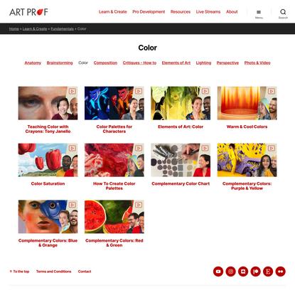 Color Archives · Art Prof