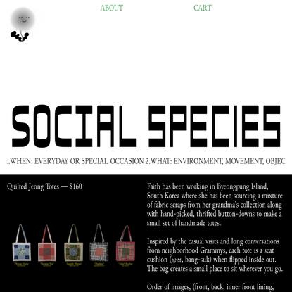 Social Species