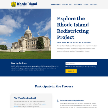 Home - Rhode Island Redistricting Project