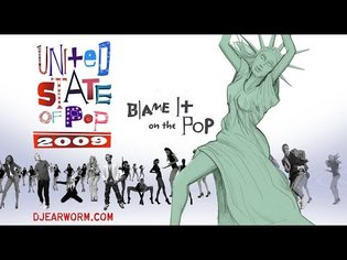 DJ Earworm - United State of Pop 2009 (Blame It on the Pop)