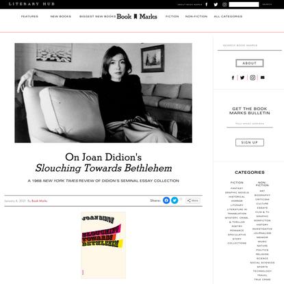 On Joan Didion's Slouching Towards Bethlehem