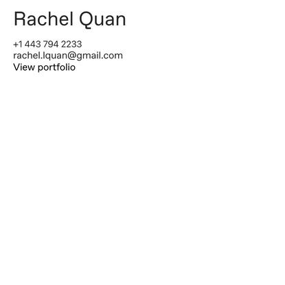 Rachel Quan