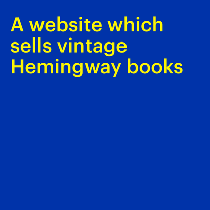 Landing page for Left Bank Books