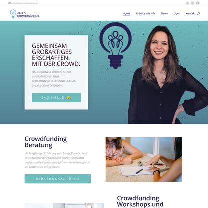 Nisha Di Giorgio Crowdfunding Expertin - HALLOCROWDFUNDUNG