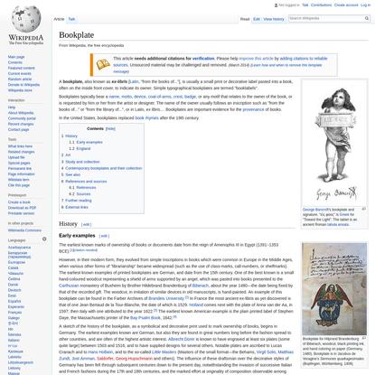 Bookplate - Wikipedia
