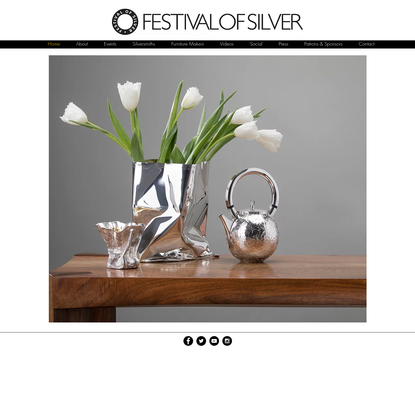 The Festival of Silver - Promoting the design and craftsmanship of UK
