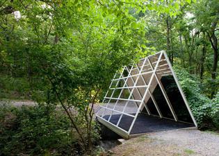 Dan Graham, Laumeier Sculpture Park
