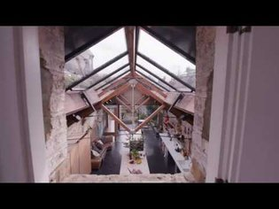 Jonathan Tuckey unveils his courtyard home, a converted industrial space in north-west London