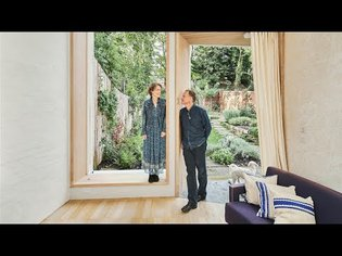 'Rubik's Cube House': architects Katy Woollacott and Patrick Gilmartin's family home in Hampstead