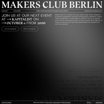 Makers Club Berlin