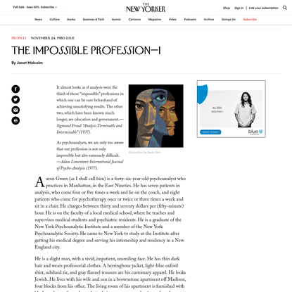 The Impossible Profession-I