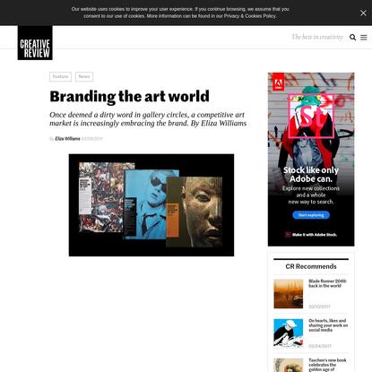 Branding the art world - Creative Review