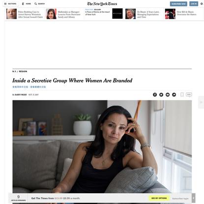 Inside a Secretive Group Where Women Are Branded
