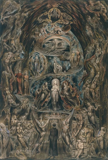 Epitome of James Hervey's Meditations Among the Tombs, William Blake