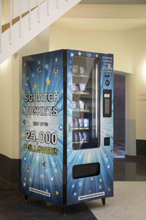 "Dries Depoorter ""Get a Popular Vending Machine"""